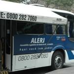 Ônibus da ALERJ em Petrópolis - RJ